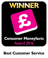 2016 Consumer Moneyfacts Best Customer Service